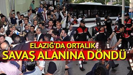 Elazığspor'un kongresinde şehir karıştı!