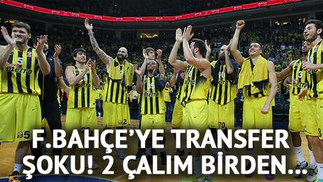 Fenerbahçe'ye potada çifte çalım!