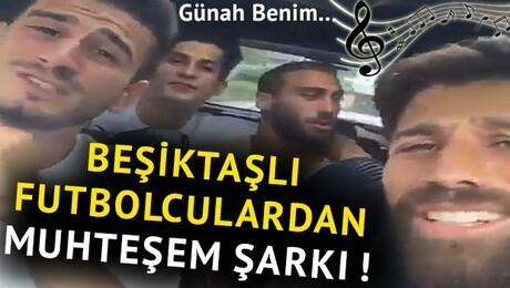 Beşiktaşlı futbolculardan muhteşem düet!
