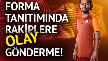 Galatasaray'ın yeni formaları tanıtıldı