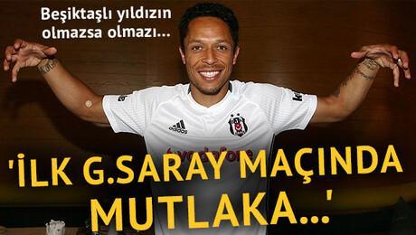 Adriano: 'Galatasaray maçında mutlaka...'