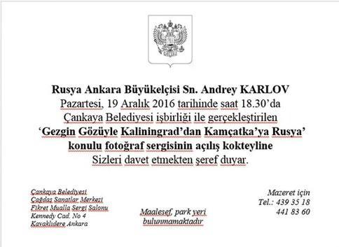 Rus büyükelçi cinayetinde yeni detaylar
