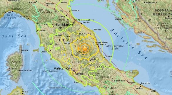 Son dakika haberi: İtalyada 6.6 büyüklüğünde deprem