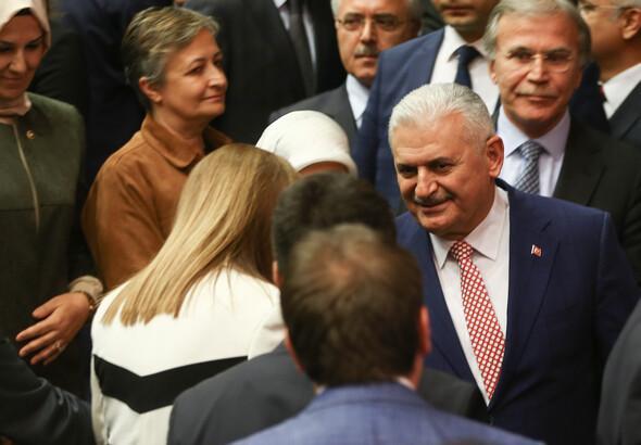 AK Parti'nin genel ba�kan aday� Binali Y�ld�r�m