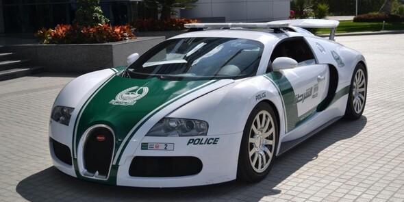 Dubai polisinin garajı dudak uçuklattı