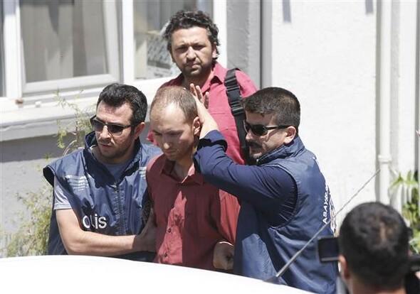 Menderes'te yakalandı