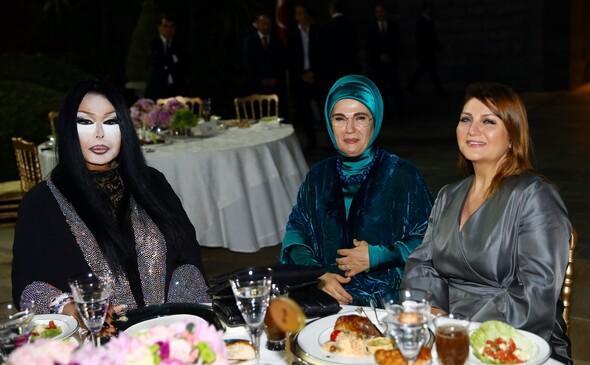 Erdoğan'ın iftar yemeğinde ünlüler geçidi