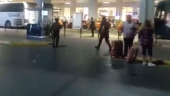 Atatürk Havalimanı'ndaki patlamalardan sonra ilk görüntüler