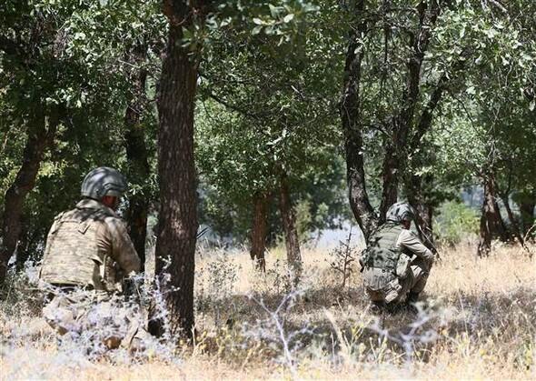 Lice'de 5 terörist öldürüldü, bir terörist yakalandı