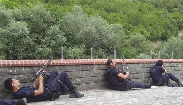 Trabzon'da polise saldırı