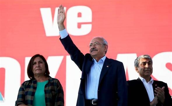 Taksim'de Cumhuriyet ve Demokrasi Mitingi