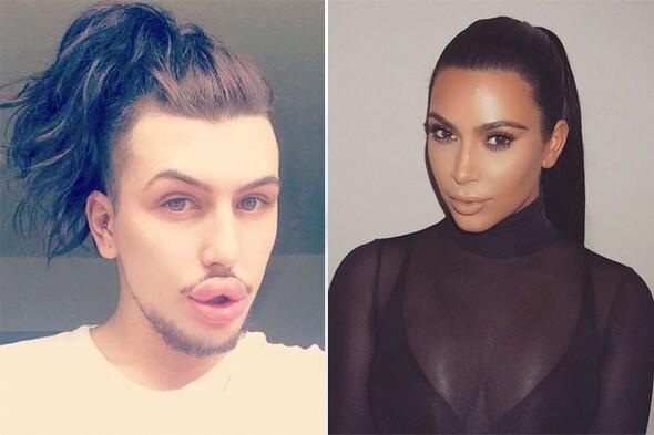 Kim Kardashian olmak için 600 bin TL harcadı