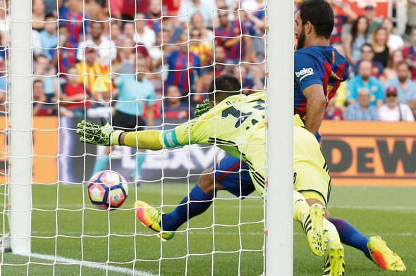 Barcelona - Real Betis maçından kareler