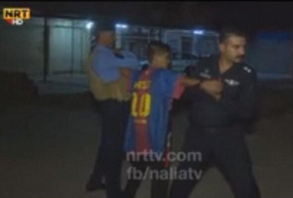 Kerkük'te IŞİD'in çocuk bombacısı yakalandı!