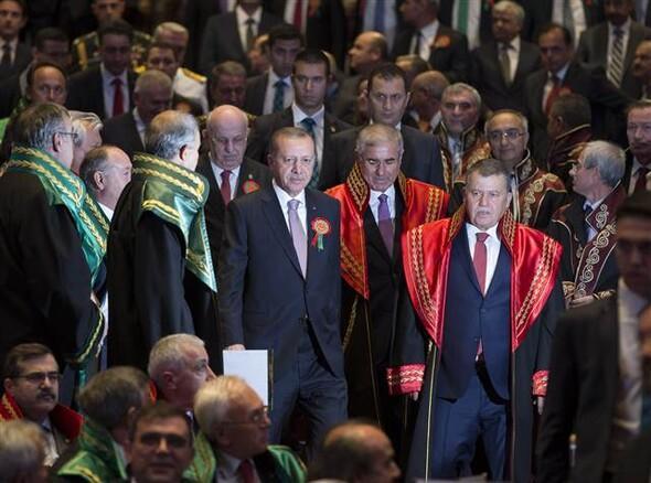 Adli Yıl Açılış Töreni'nden kareler