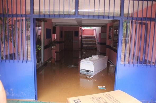 Fındıklı'da yoğun yağış