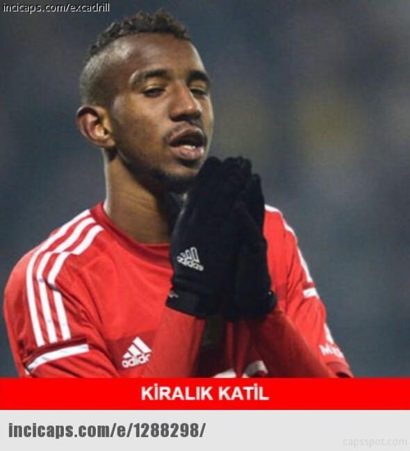 Benfica - Beşiktaş maçı sonrası capsler