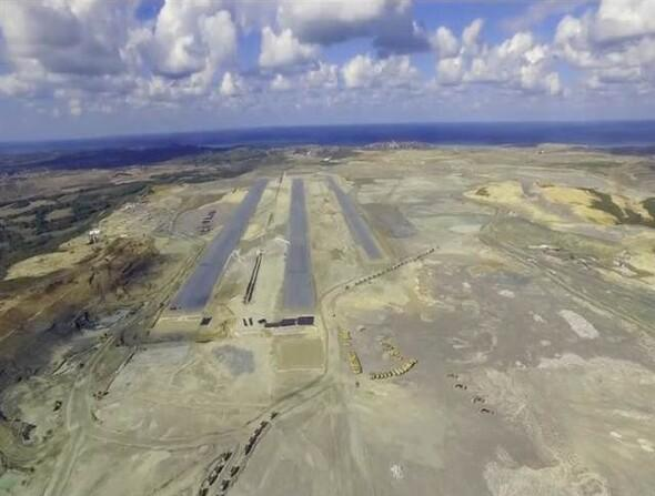 Üçüncü Havalimanının ilk pist ortaya çıktı