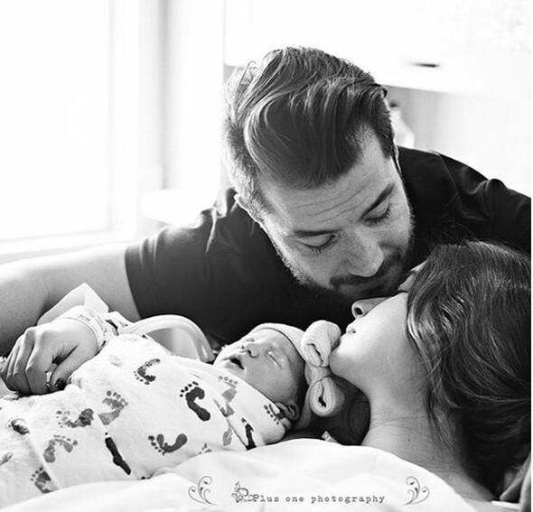 Buse Terimden doğum sonrası ilk fotoğraf