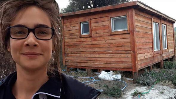 Eylül Su Sapan Kaz Dağlarında ev aldı