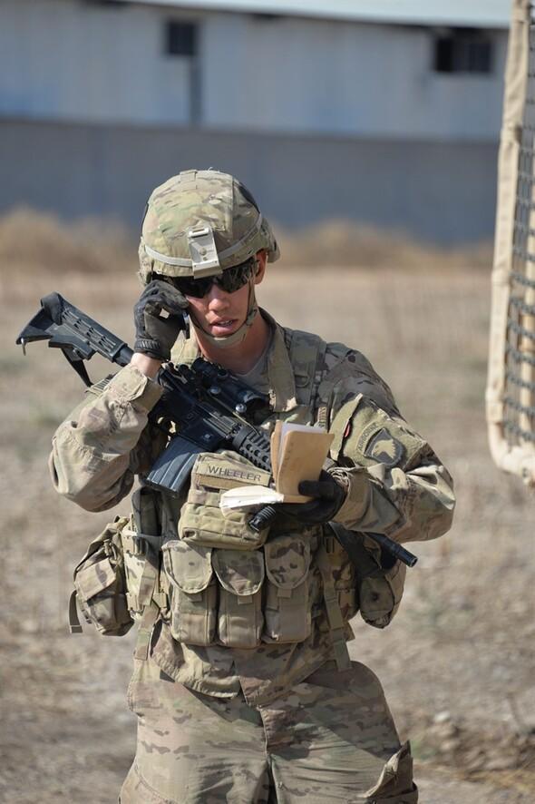 ABD askerleri Musulda