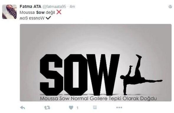 Sow hat-trick yaptı Sosyal medya yıkıldı...
