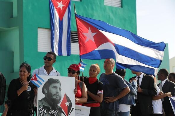 Fidel Castronun külleri özel bir törenle defnedildi