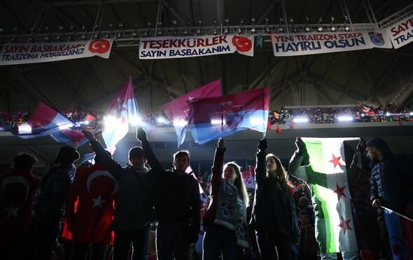 Trabzonsporun yeni stadı Akyazı Stadı açılıyor...