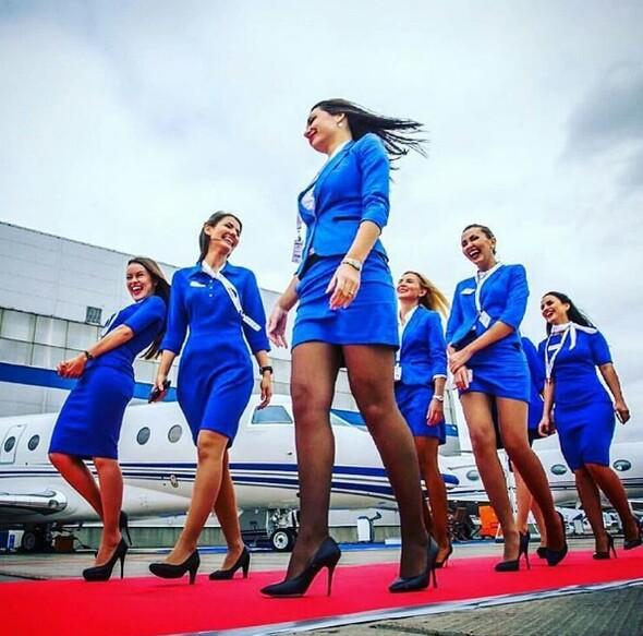 Sosyal medyayı ayağa kaldıran uçuş görevlileri