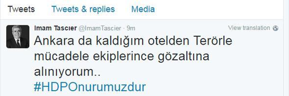 Son Dakika haberi: Selahattin Demirtaş ve Figen Yüksekdağ ile 9 HDPli vekil gözaltında
