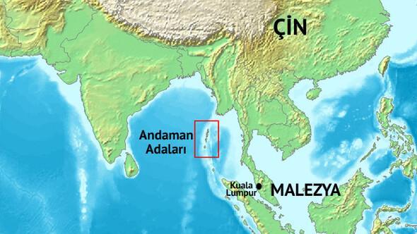 Kayıp Malezya uçağı Andaman Adalarına gidiyormuş