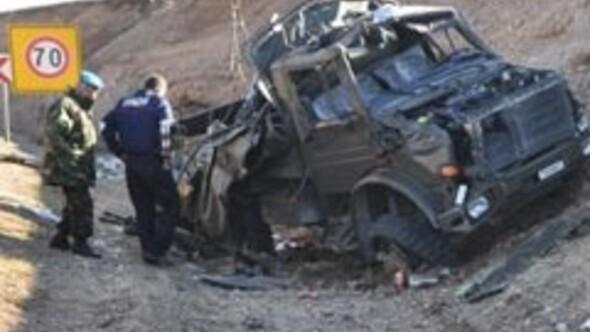 Askeri araç kaza yaptı: 2 şehit