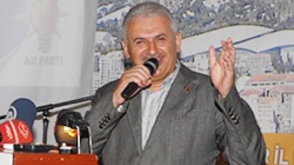 Binali Yıldırım İzmirde