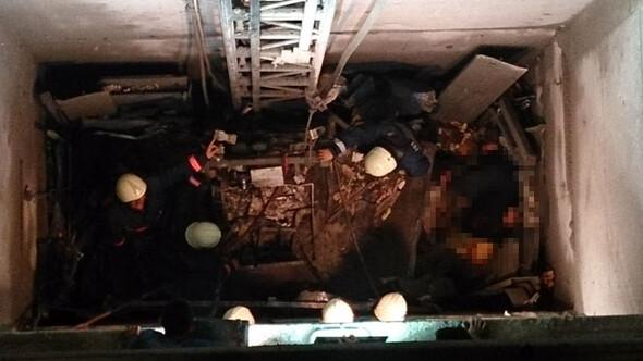 32'nci kattan çakıldı 10 işçi öldü