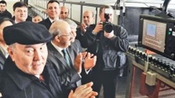 Kazakistan'a ilk seramik fabrikasını 3 milyon dolara Granist götürdü
