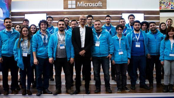 Microsoftun patronu Satya Nadella Türkiyeye geldi