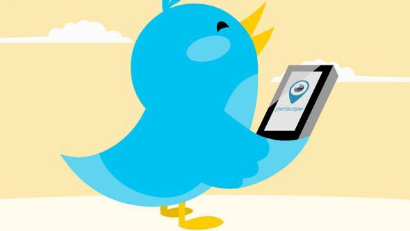 Twitterda canlı yayın başlıyor