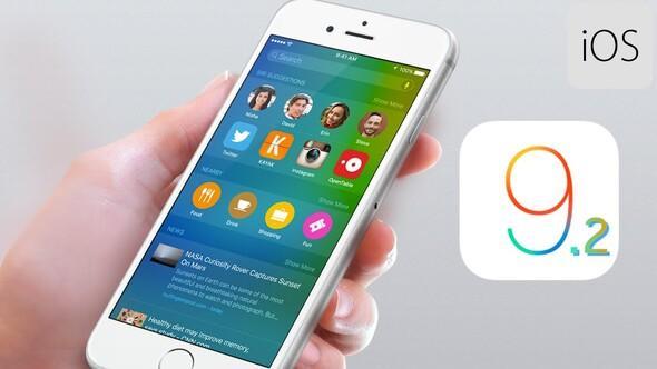 iOS 9.2.1 güncellemesi yayınlandı   İndirin