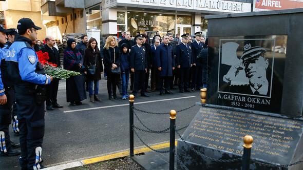 Gaffar Okkan ölüm yıl dönümünde anıldı