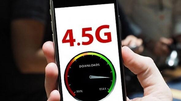 Cep telefonu ve tablet ekranlarında 4.5G yazacak