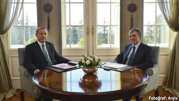 Cumhurbaşkanı Erdoğan, Abdullah Gülle buluştu