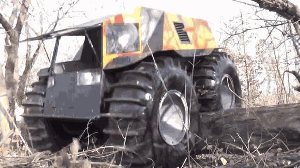 Rus mühendisten engel tanımayan canavar: Sherp ATV