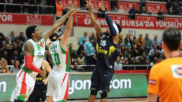 Pınar Karşıyaka: 72 - Fenerbahçe: 82