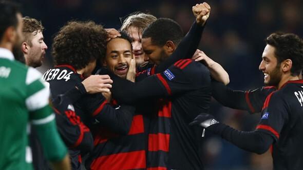 Bayer Leverkusen: 3 - Sporting Lisbon: 1