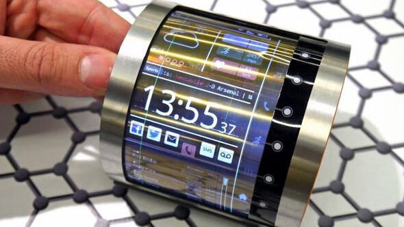 Geleceğin telefon ekranları böyle olacak