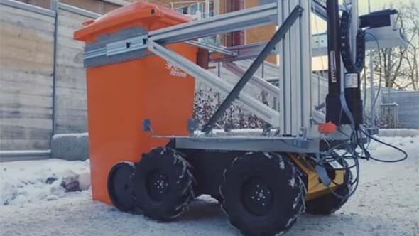 Çöp toplayan akıllı robot geliştirildi