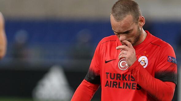 Sneijder: Galatasarayda kaos hakim