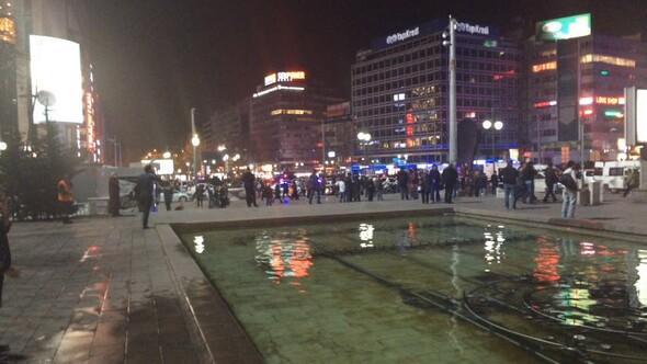 Dünya Ankaradaki patlamayı böyle gördü