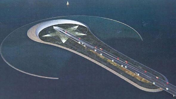 Trafiğe ay yıldız adasıyla çözüm