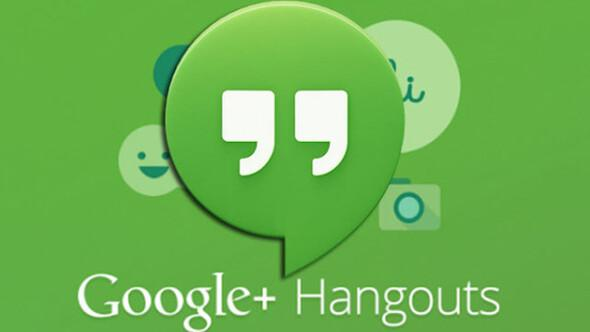 Türkiye ve Belçika'da Hangouts aramaları ücretsiz
